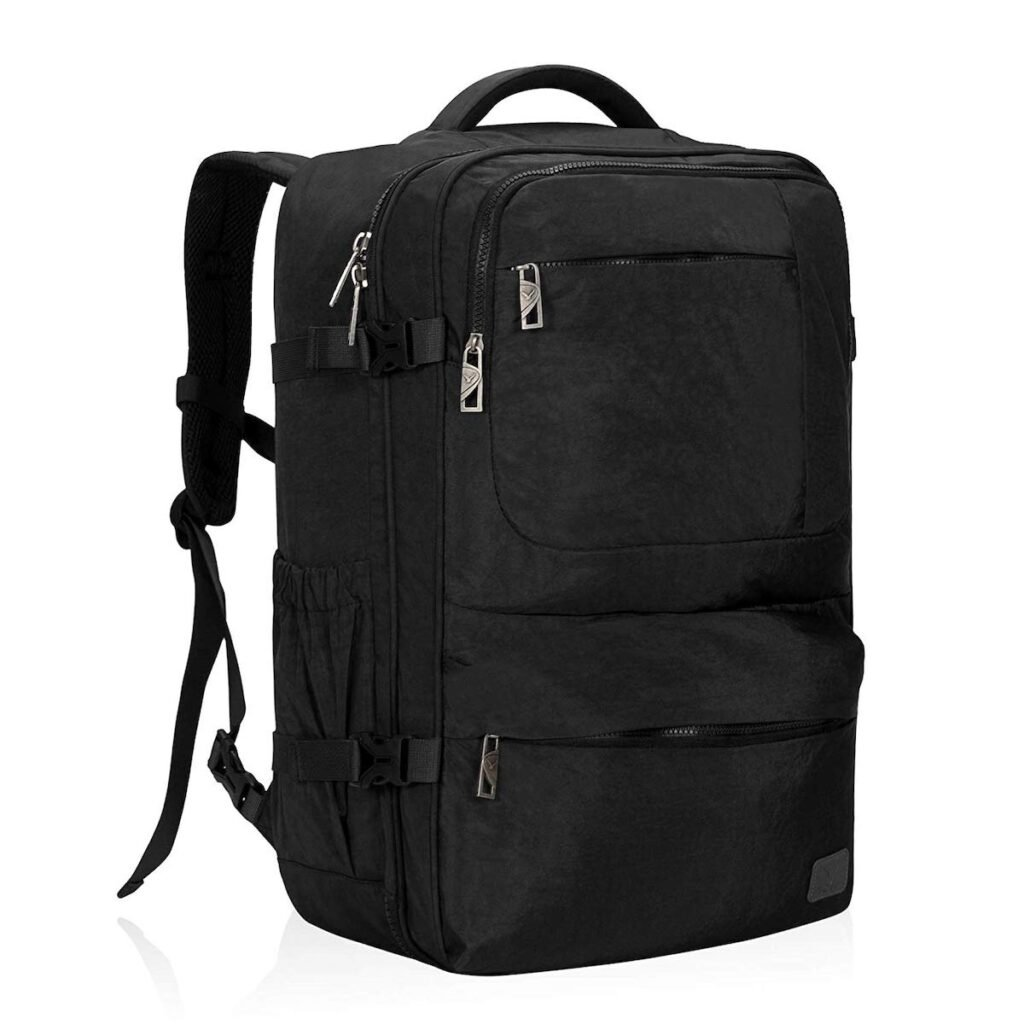 Hynes Eagle Compression Travel Pack in black.