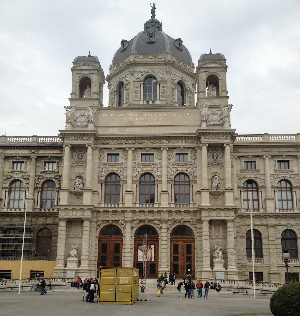 Iconic building in Vienna.