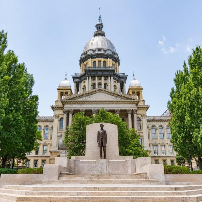 Illinois State Capitol Building, Springfield, IL.