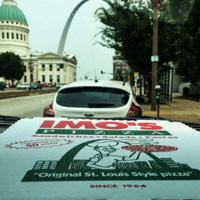 Imos Pizza in St. Louis, MO.
