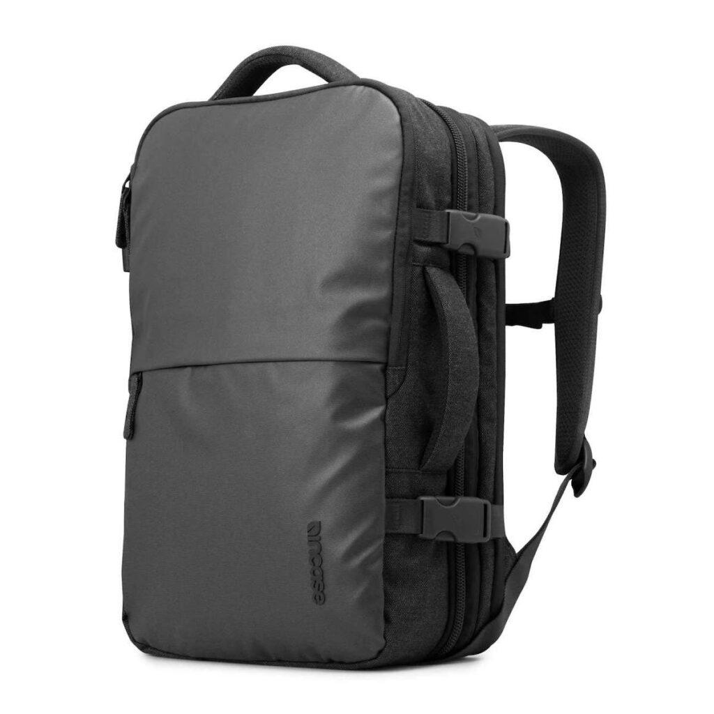 Incase Travel Backpack in black.