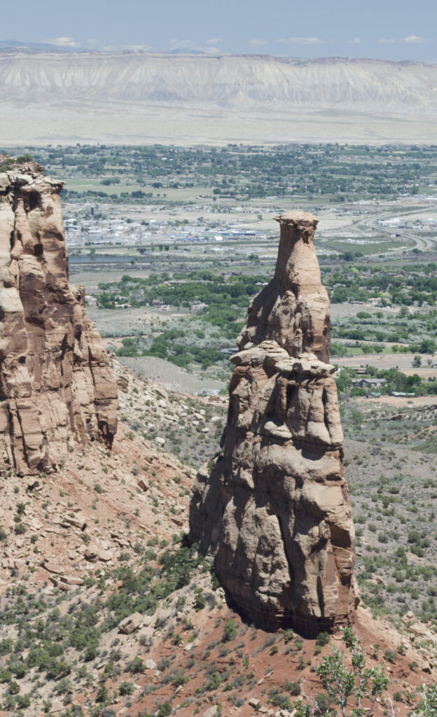 Independence Monument, part of the Colorado National Monument.
