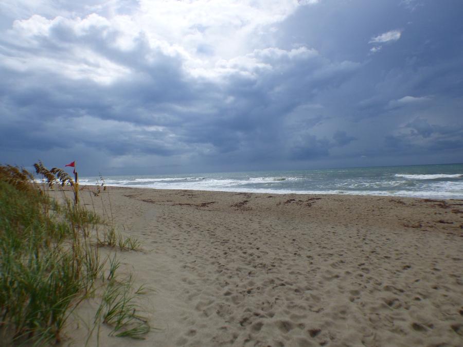 Indian beach on North Carolina's Emerald Isle.