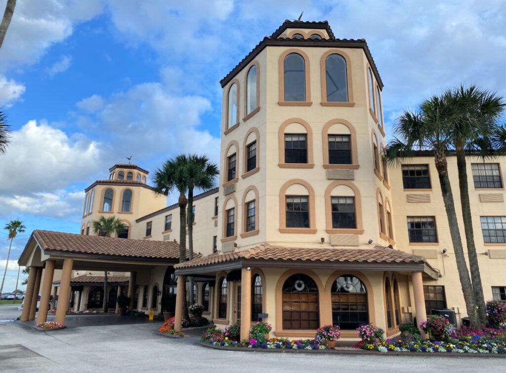 Inn on the Lakes, Sebring, Florida.