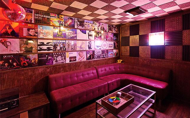 Inside Break Room 86 in Los Angeles.
