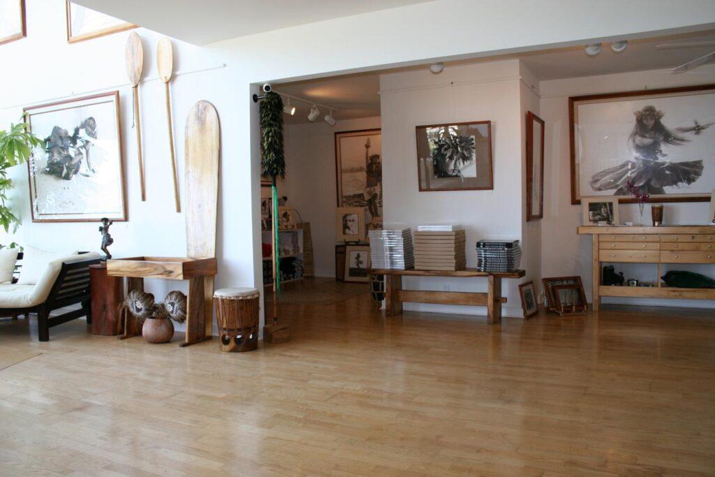 Inside Kim Taylor Reece's studio.