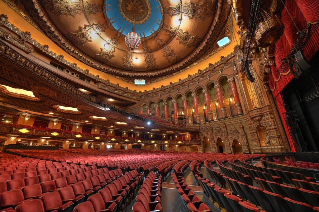 Inside the Fox Theatre.