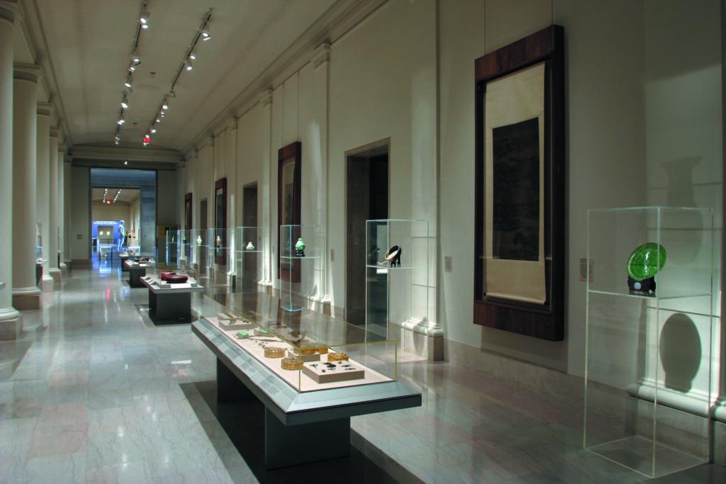 Inside the Minneapolis Institute of Art.