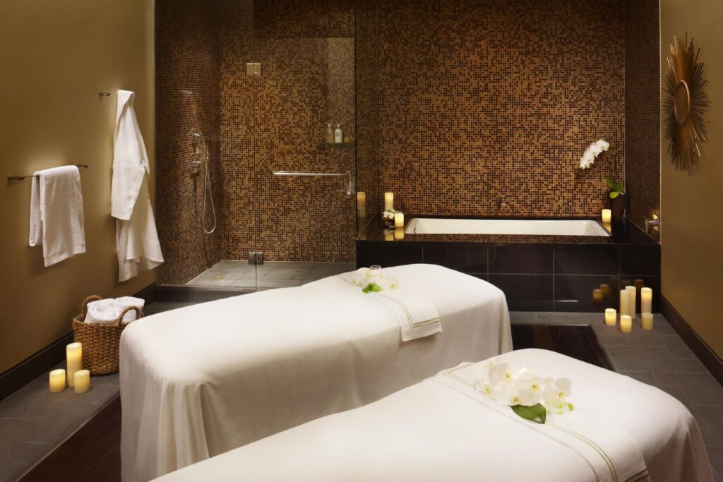 Inside the Spa at Viceroy Snowmass.