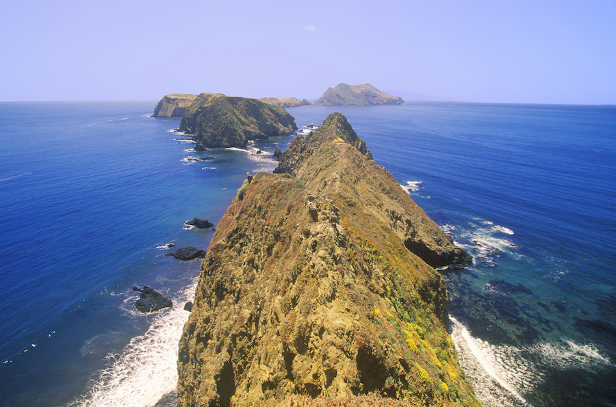 Inspiration Point in Channel Islands National Park.