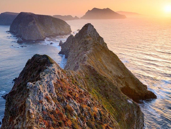 Inspiration Point on Anacapa Island in California's Channel Islands National Park.