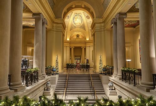 Interior of the Museum Fine Arts Boston