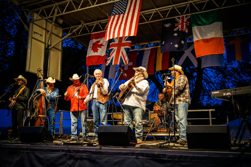International Bluegrass Festival, Guthrie, Oklahoma.