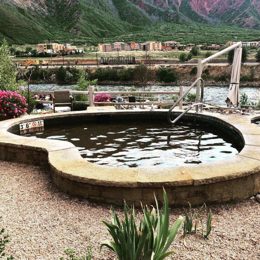Iron Mountain Hot Springs in Colorado.