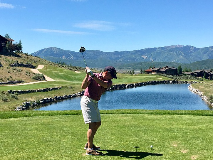 is golfing one of the activities that make Deer Valley Utah an all-season vacation destination