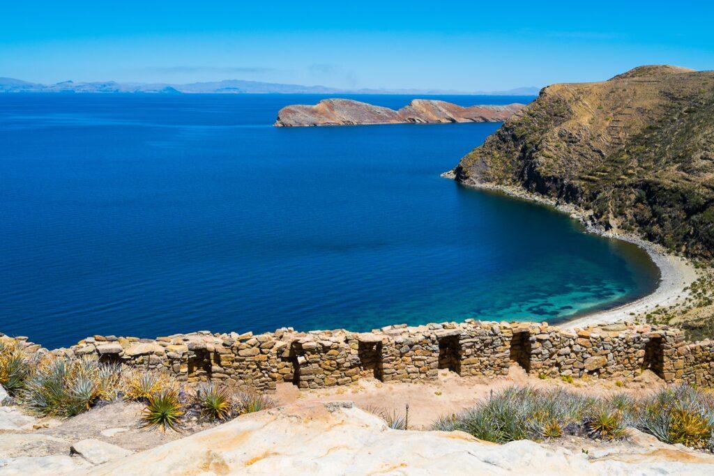 Isla del Sol in Bolivia.