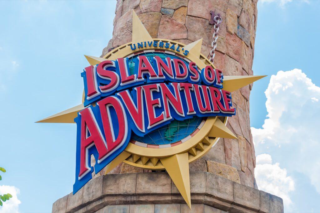 Islands of Adventure at Universal Studios Orlando.