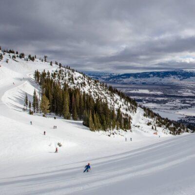 Jackson Hole Ski Mountain Resort.