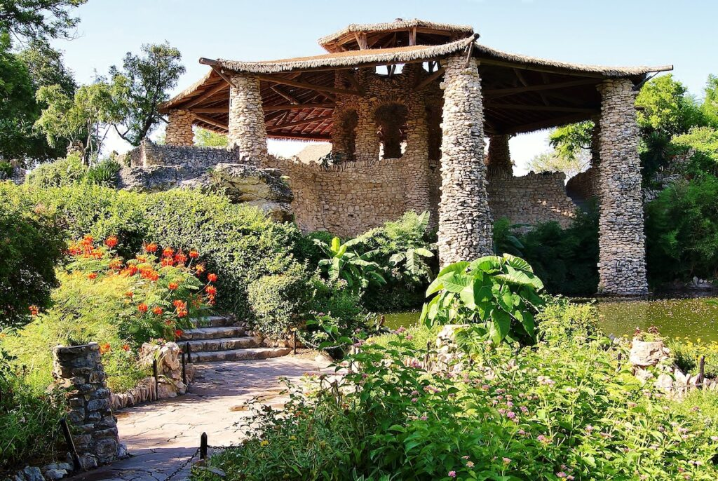Japanese Tea Garden in San Antonio.