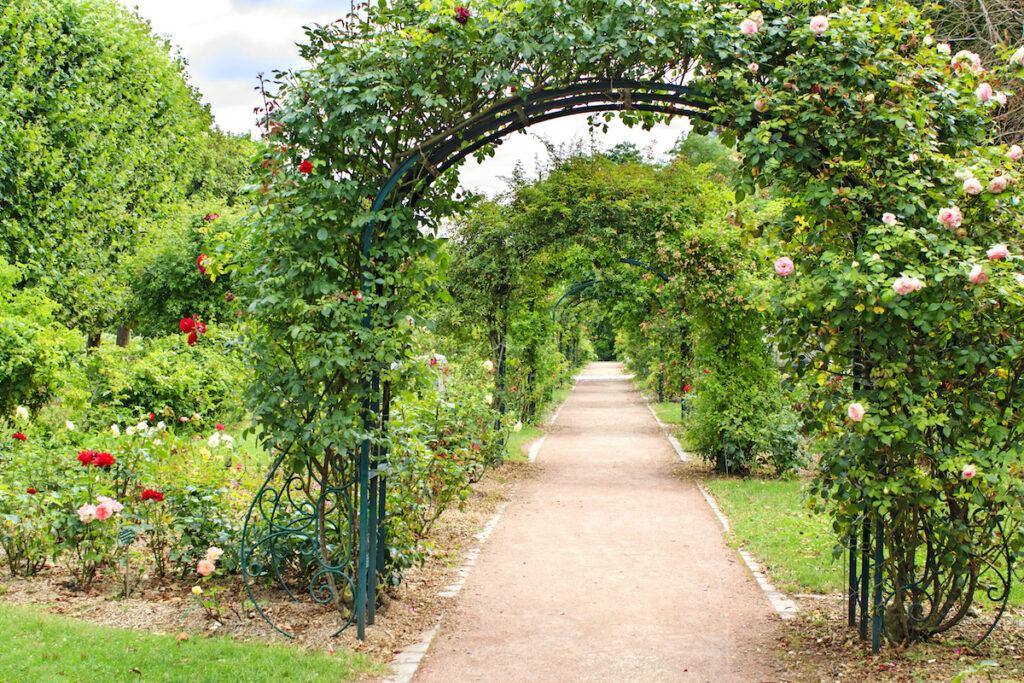 Jardin des Plantes in Paris, France.