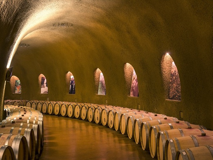 Jarvis Caves Winery, California.
