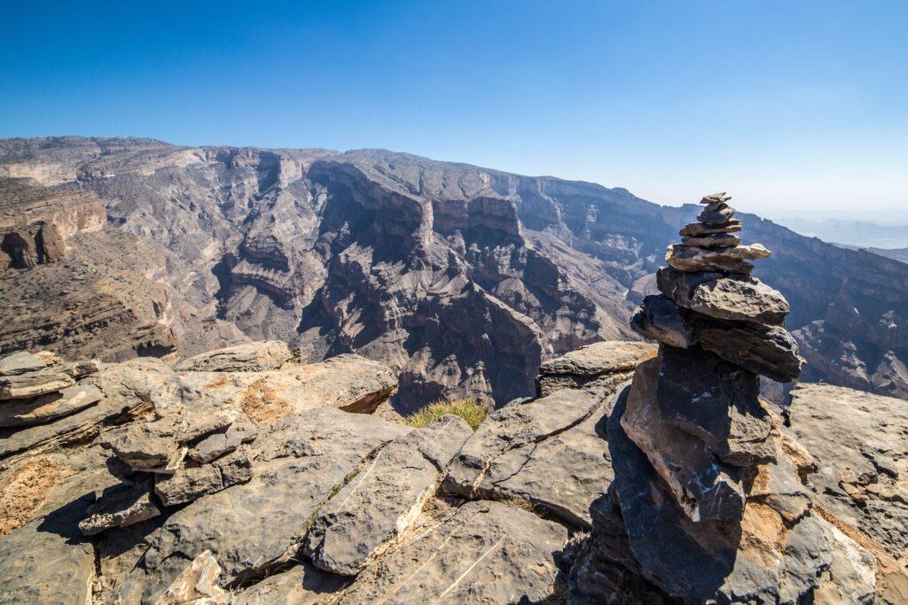 Jebel Shams in Oman.