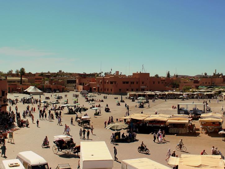 Jemaa el-Fnaa Square Morocco