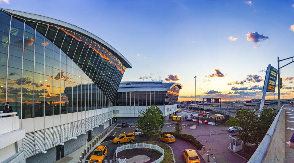 JFK Airport in New York.