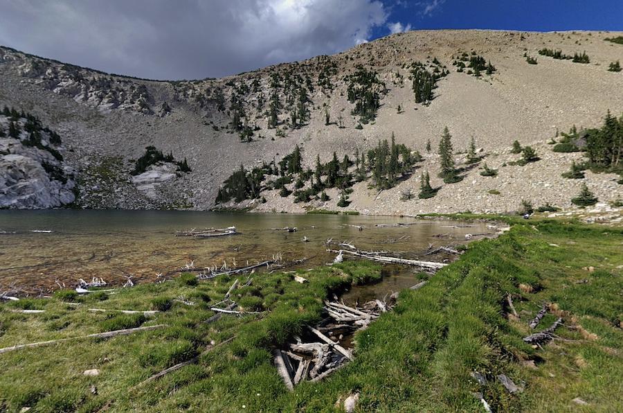 Johnson Lake in Great Basin National Park.