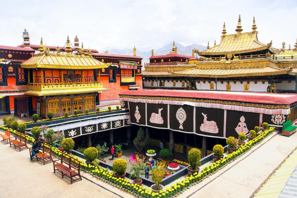 Jokhang Temple in Tibet.