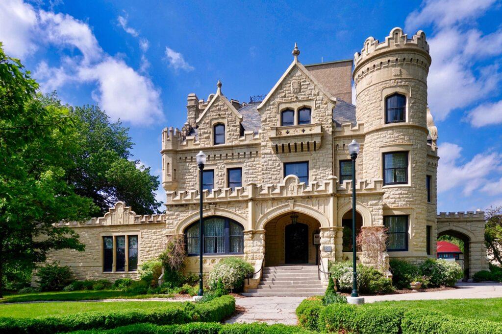 Joslyn Castle in Omaha, Nebraska.
