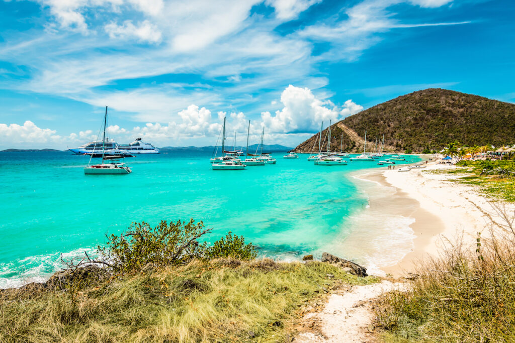 Jost Van Dyke in the British Virgin Islands.
