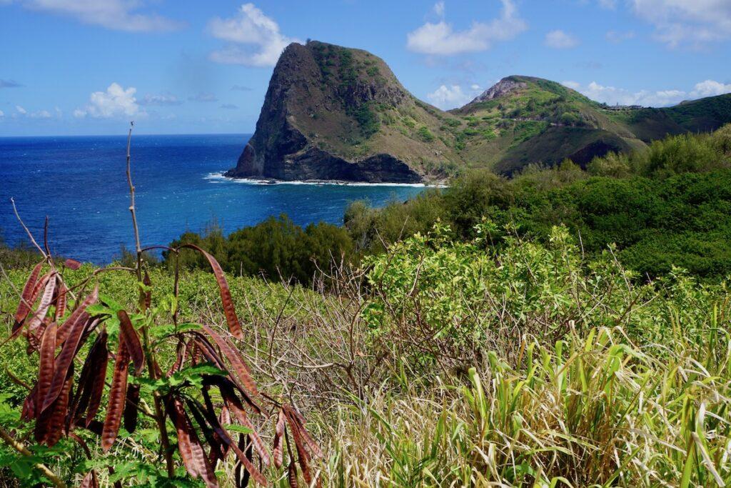 Kahakuloa Head along Maui's Kahekili Highway.