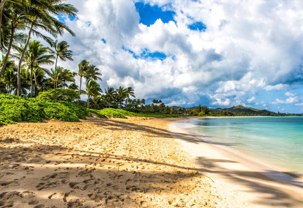 Kailua Beach Park in Hawaii