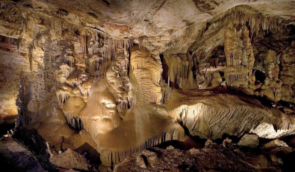 Kartchner Caverns State Park in Arizona.