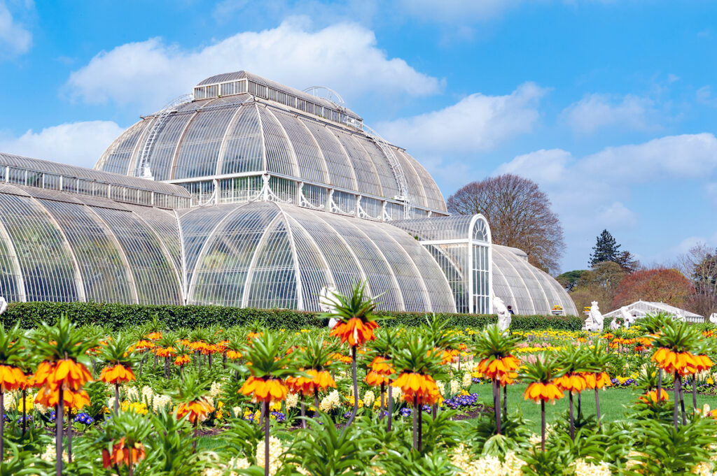 Kew Gardens in Richmond, United Kingdom.