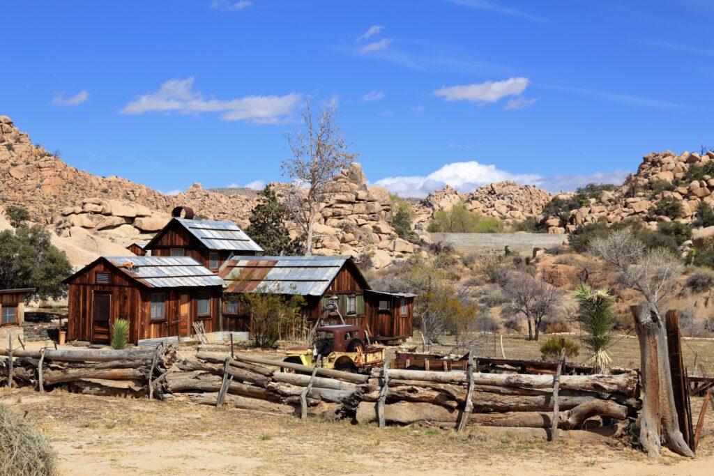 Keys Ranch in Joshua Tree National Park.