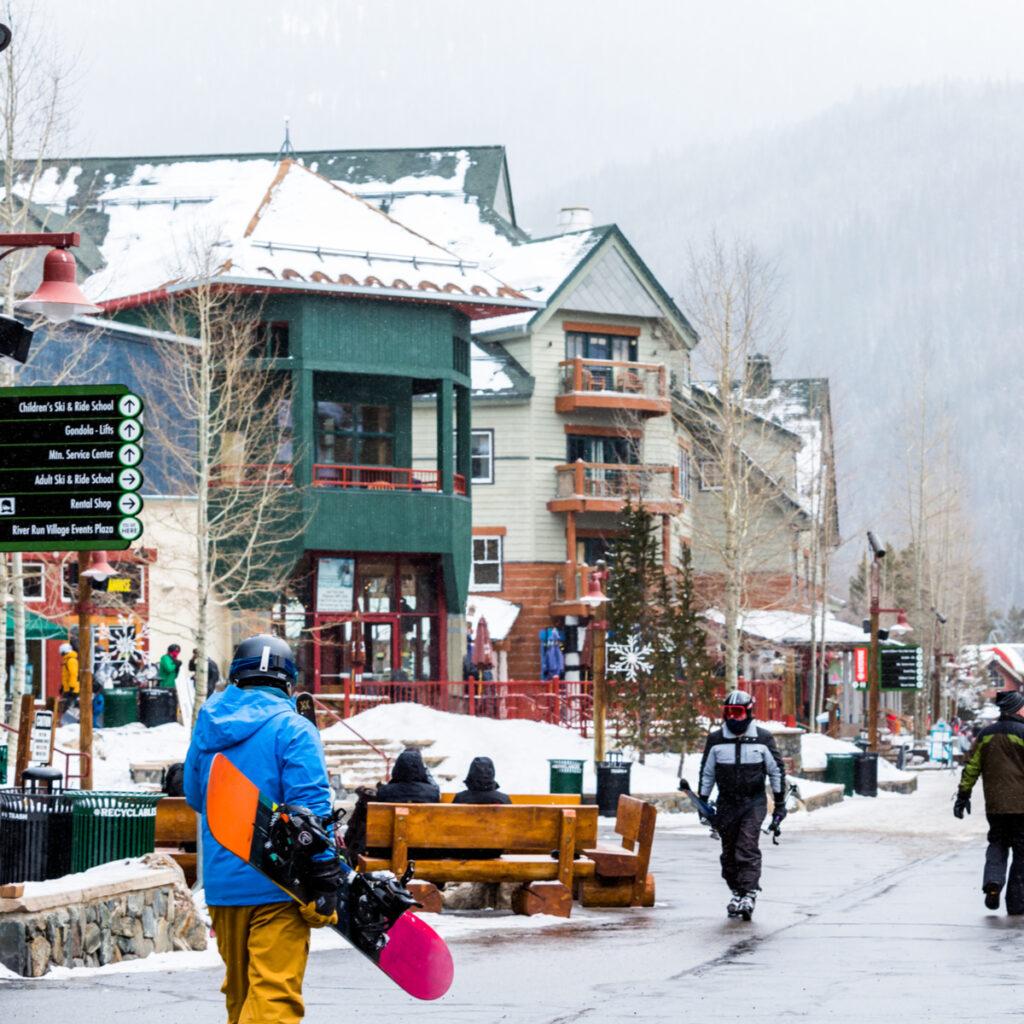Keystone Ski Resort in Keystone, Colorado.