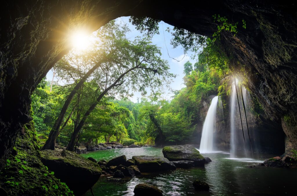 Khao Yai National Park in Thailand.