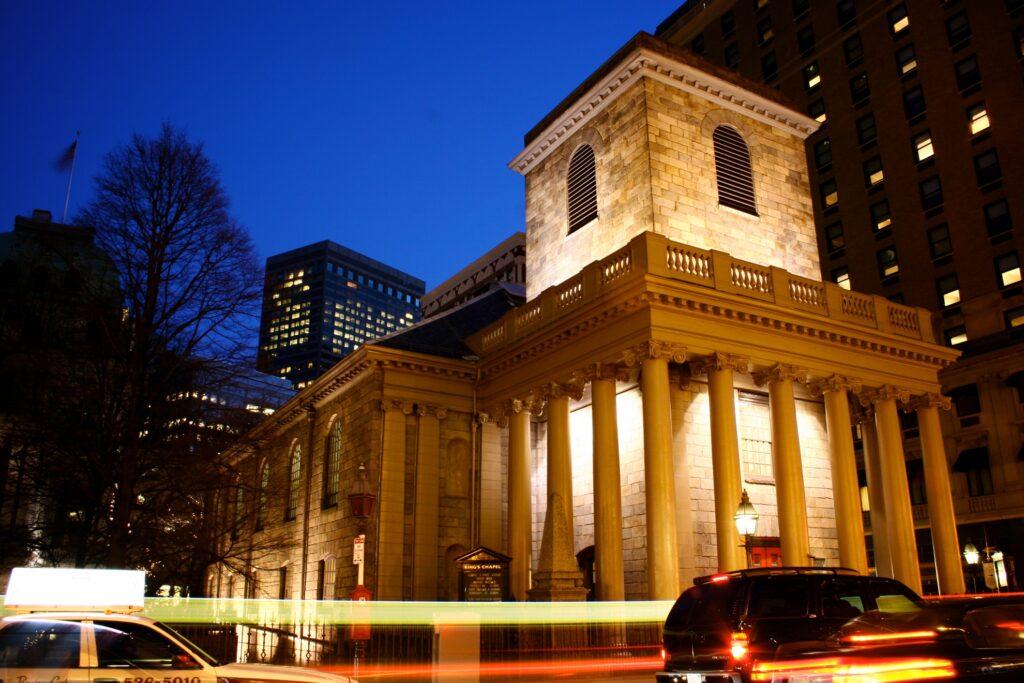 King's Chapel in Boston.