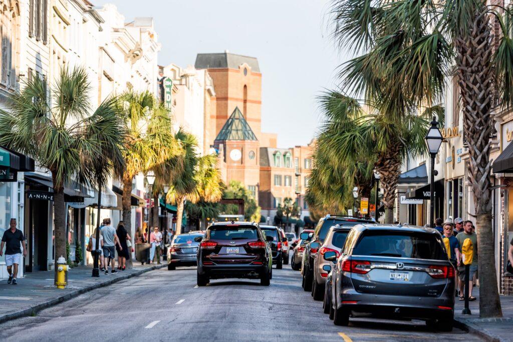 King Street in Charleston.