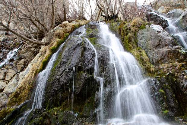 Kings Canyon Waterfall in Carson City.