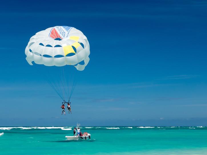 Kite surfing, Dominican Republic