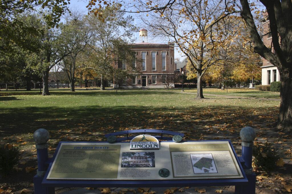Knox College, Galesburg, Illinois.