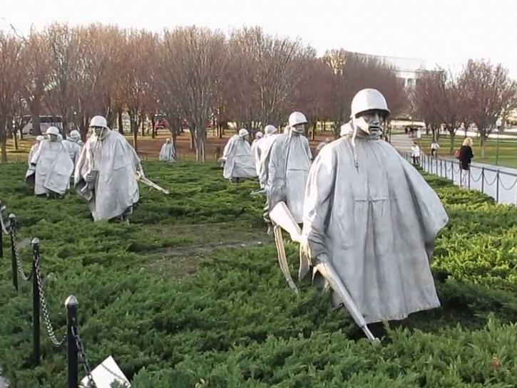 Korean War Memorial Washington