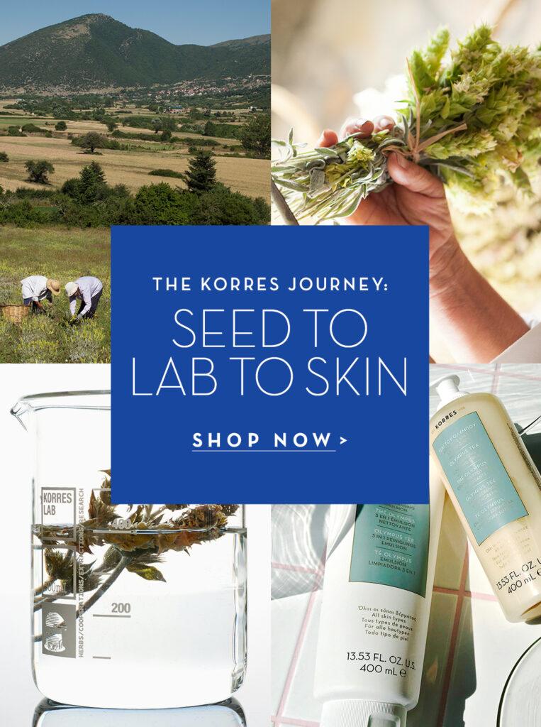 KORRES skincare ingredients