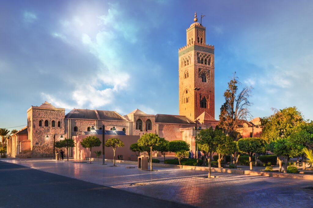 Koutouba mosque in Marrakesh.