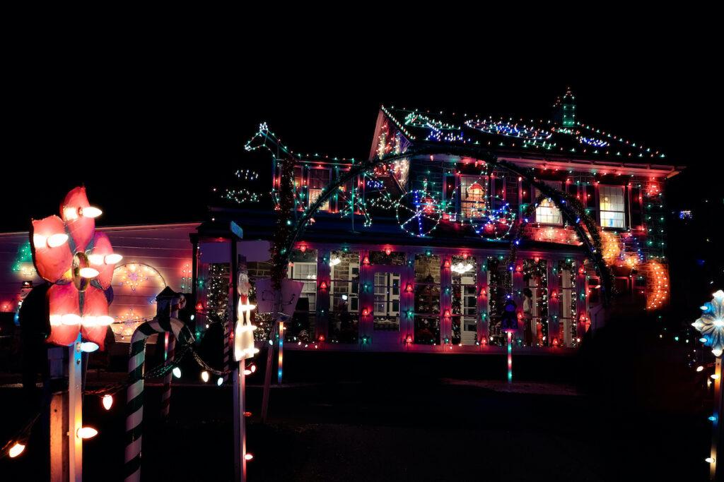 Koziar's Christmas Village in Bernville, Pennsylvania.