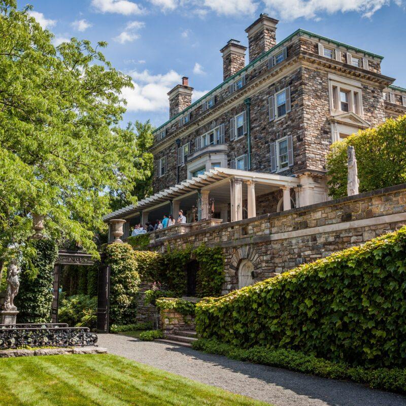 Kykuit, the Rockefeller estate in Sleepy Hollow.