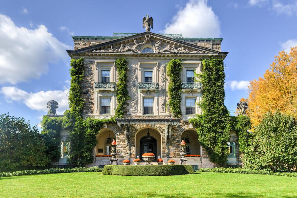 Kykuit, the Rockefeller estate in the Hudson Valley.